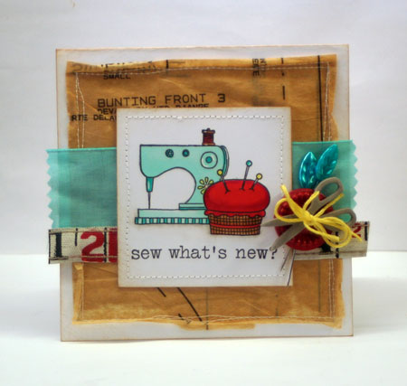 sewing masking card