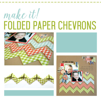 Folded Chevrons Technique: the tutorial