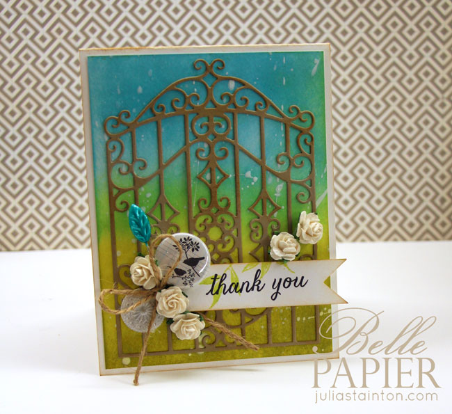 Gate Thank You Card by Julia Stainton for Top Dog Dies