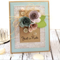 Scalloped Rose Card by Julia Stainton for MFT Stamps