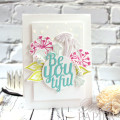 BeYOUtiful Card design by Julia Stainton for Ellen Hutson LLC