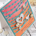 Bistro Lights Anniversary Card by Julia Stainton for Taylored Expressions