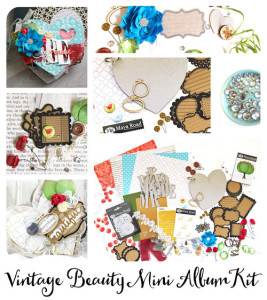 Vintage Beauty Mini Album Kit