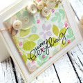 Botanicals 3 Floral Card by Julia Stainton featuring Paper Smooches
