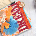 Dream Mini Album using the Maya Road Life's Journey Mini Album Kit