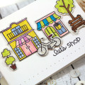 Let's Shop Promenade Card by Julia Stainton using Paper Smooches