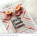 Four Way Chevron Friendship Card by Julia Stainton