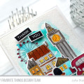 London Thank You Card by Julia Stainton featuring watercolor and MFT Stamps