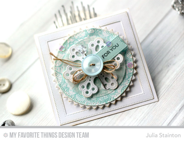 Hard Versus Soft Design Lesson by Julia Stainton for MFT Stamps