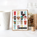 Rise and Shine Coffee Card Front Card with Free Digital Cutting File in SVG and PNG formats