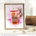 Enjoy Frappuccino Card by Julia Stainton