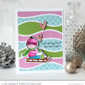Joy and Good Cheer Card by Julia Stainton