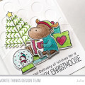 Merry Christmoose Holiday Card by Julia Stainton
