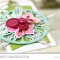 Layered Holiday Christmas Tag by Julia Stainton