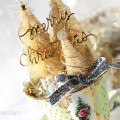 Christmas in a Teacup Altered Art Project by Julia Stainton