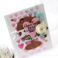 A World of Love Globe Card by Julia Stainton