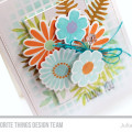 Large Desert Bouquet Thank You Card by Julia Stainton featuring MFT Stamps