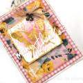 Foiled Adhesive Rub On Butterfly Card by Julia Stainton for Ellen Hutson LLC