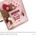 Pretty and Sweet Friendship Valentine by Julia Stainton featuring MFT Stamps