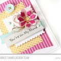 You're On My Mind Card by Julia Stainton for MFT Stamps Sketch Challenge #MFTWSC272