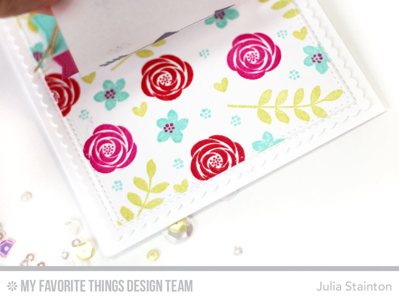 You are Sweet Stamped Sentiment Strip Card by Julia Stainton featuring MFT Stamps Blueprints Die-namics