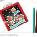 Warm and Fuzzy Friends Camping Bonfire Card by Julia Stainton featuring MFT Stamps