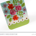Stamped Floral Sketch Challenge Card by Julia Stainton featuring MFTWSC282, Stamps and Die-namics by MFT Stamps