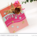 You Rock Star Card by Julia Stainton