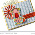Fun in the Sun Card by Julia Stainton featuring Pure Innocence from MFT Stamps