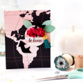 Be Brave World Map Card by Julia Stainton featuring Maya Road Follow Your Bliss Card Kit