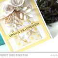 Sending You Strength Handmade Card by Julia Stainton featuring MFT Stamps