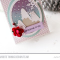 Wintery Joy Card by Julia Stainton featuring MFT Stamps