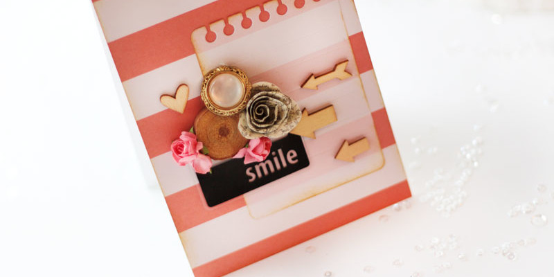 Smile Card by Julia Stainton guest designing for The Card Concept Challenge 60
