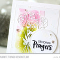 Sending Prayers Rose Card by Julia Stainton feauting MFT Stamps