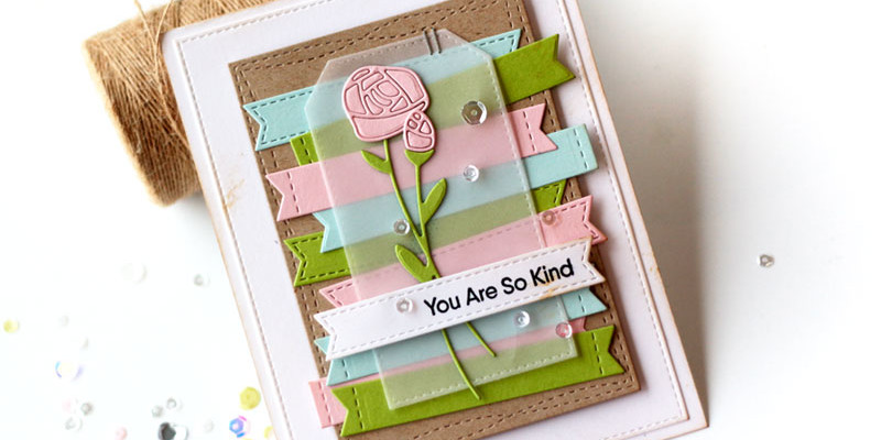 Roses in Bloom Card by Julia Stainton featuring MFT STamps