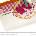 Love and Thanks Card by Julia Stainton featuring MFT Stamps