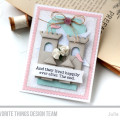 Happily Ever After Castle Card by Julia Stainton featuring MFT Stamps