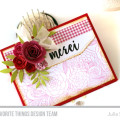 Merci Card by Julia Stainton featuring MFT Stamps