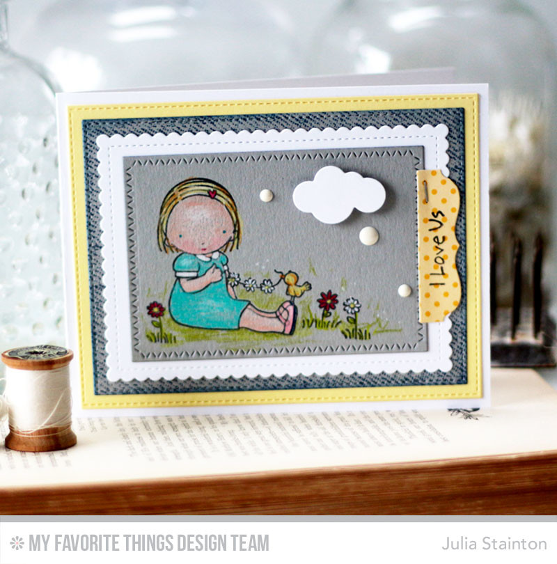 Pure Innocence Card by Julia Stainton featuring MFT STamps