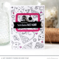 Tweet-Heart Card by Julia Stainton featuring MFT Stamps