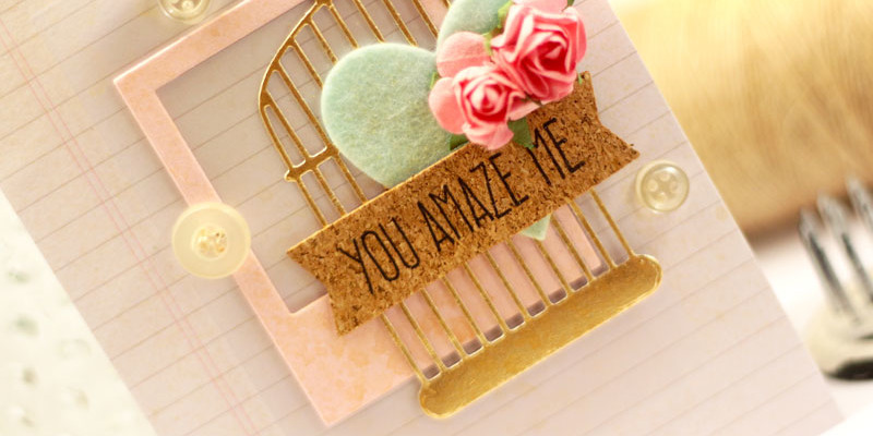 You Amaze Me Sketch Challenge Card by Julia Stainton featuring MFT Stamps