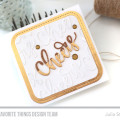 Cheers Cork and Foil Card by Julia Stainton featuring MFT Stamps