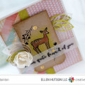 Oh Deer Fawn'd of You Card by Julia Stainton featuring Essentials by Ellen Oh Deer Stamp Set