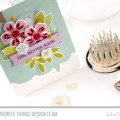 Flashy Florals Get Well Card by Julia Stainton featuring MFT Stamps