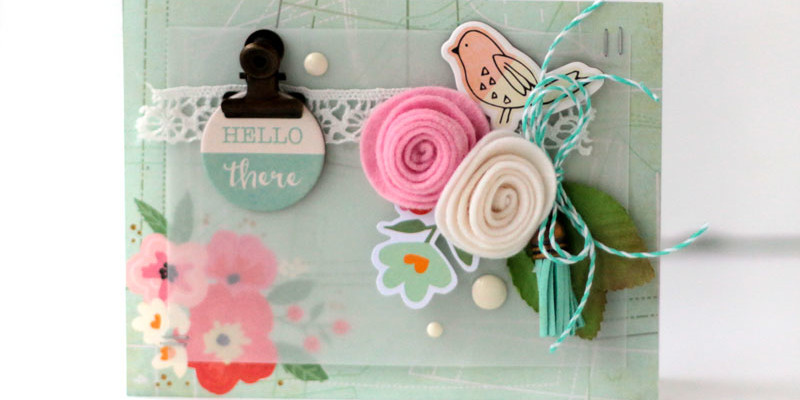 Hello There Card for Card Maps 5 by Julia Stainton