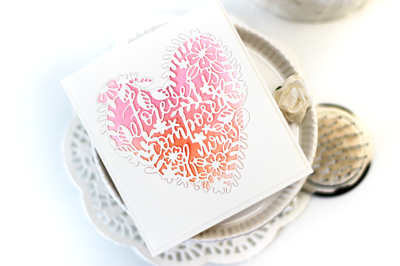 Forever is Composed of Nows Card by Julia Stainton featuring Pinkfresh Studio