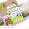 The World Needs More You Friendship Card by Julia Stainton featuring MFT Stamps