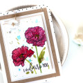Poppy Card by Julia Stainton featuring Altenew and Ellen Hutson LLC