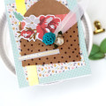 Golden Moments Kit Cards by Julia Stainton featuring Maya Road