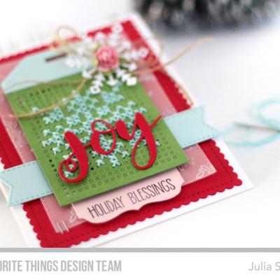 Stitched Snowflakes: MFT October Release Countdown